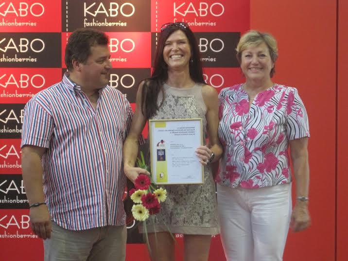 Drahomíra Gřešová na slavnostním vyhodnocení veletrhu Kabo