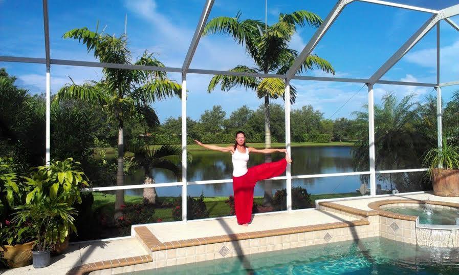 ...a jedna relaxační - jóga