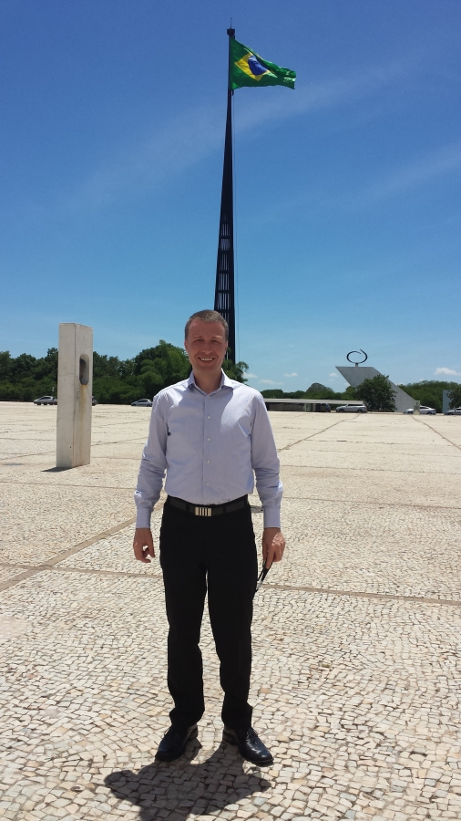 Petr v Brazílii jako člen podnikatelské delegace na vládní misi organizované Senátem ČR a spoluorganizované Hospodářskou komorou.