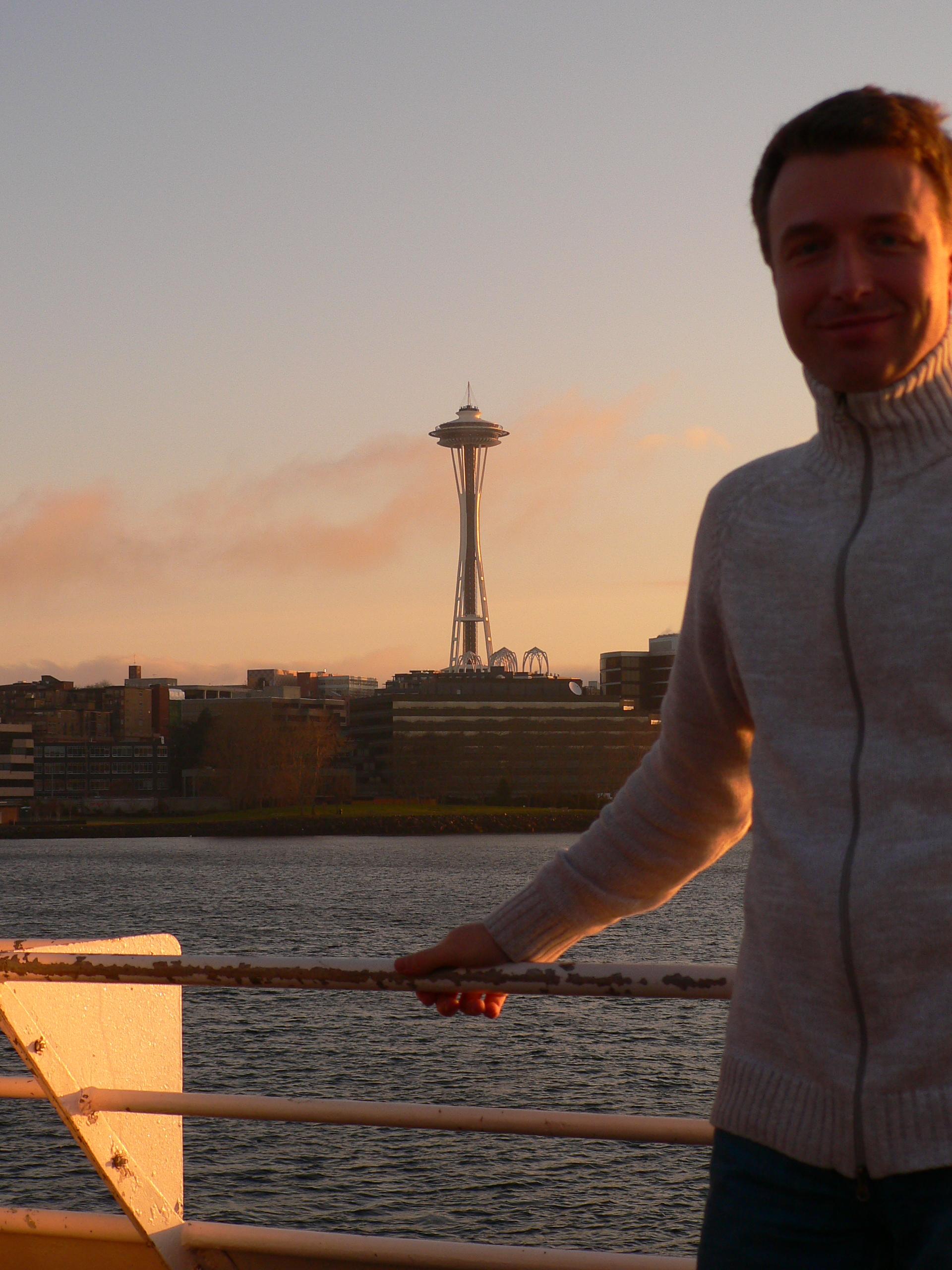 Seattle - město, kde Petr v USA žil a studoval.