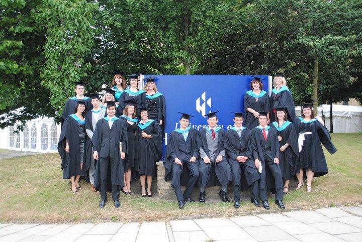 Promoce na University of Huddersfield