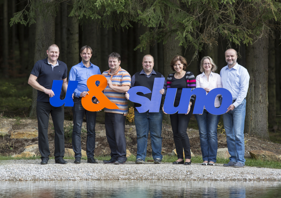 S kolegy ze společnosti U&Sluno a.s.